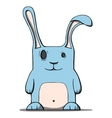 Cute cartoon rabbit vector image vector image