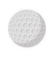 Golf ball cartoon icon vector image vector image