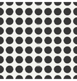 Hand drawn geometric seamless ink polka dot vector image vector image
