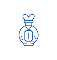 love potion line icon concept love potion flat vector image vector image