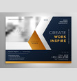 modern business brochure template design vector image vector image