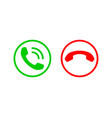 phone icon call center app telephone icons vector image