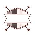 triangle arrow symbol icon vector image