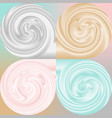 3d like smooth and silky cosmetics cream liquid vector image vector image