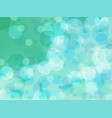 abstract light green background of water vector image