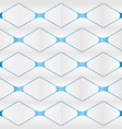 abstract square background 3d modern wallpaper vector image vector image