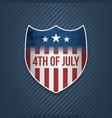 fourth of july celebration banner vector image vector image