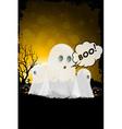 Grunge Halloween Card vector image vector image