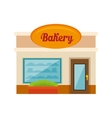 Little bakery store vector image