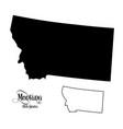 map of the united states of america usa state of vector image vector image