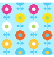 Spring flower seamless pattern design vector image vector image