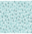 Seamless background with rain drops vector image