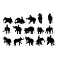 Elephant show and training with mahout vector image