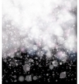 Abstract black soft bokeh background vector image vector image