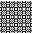 asian seamless pattern circles texture vector image vector image