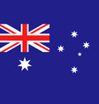 australia flag icon in flat style national sign vector image