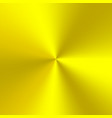 bright yellow gradient vector image vector image