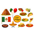 cinco de mayo mexican holiday traditional symbol vector image
