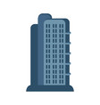 modern skyscraper isolated icon vector image vector image