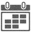 Month Calendar Grainy Texture Icon vector image vector image