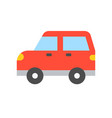 simple transportation icon flat design vector image vector image