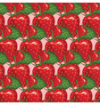 Strawberry Patterned Background vector image vector image