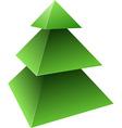 vector pine tree vector image