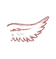 Wing icon Bird design graphic vector image