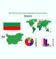 39 bulgaria all countries of the world vector image