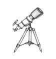 astronomer equipment telescope monochrome