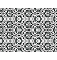 black and white seamless of the stars in a retro vector image vector image