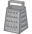 Cheese grater vector image
