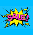 comic sale discount vector image vector image