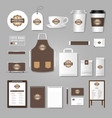 corporate identity template logo concept vector image