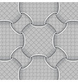 design elements third circles pattern vector image vector image