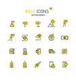 easy icons 42d gettng money vector image vector image