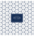elegant hexagonal 3d cube style pattern background vector image vector image
