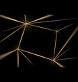 gold and black background luxury texture vector image vector image