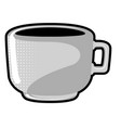 isolated coffe cup vector image