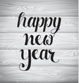 new year typography 4 vector image vector image