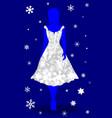 snow queen vector image