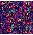 Abstract colorful seamless doodle background vector image vector image