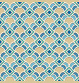abstract geometric pattern in arabic style vector image