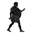 ancient roman warrior vector image