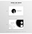Business Cards Design Template vector image vector image