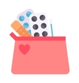 Contraceptives vector image