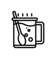 hot drink icon vector image vector image