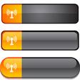 Radio button set vector image vector image