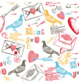 scrapbook background sketches vector image