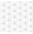 seamless pattern in gray color vector image